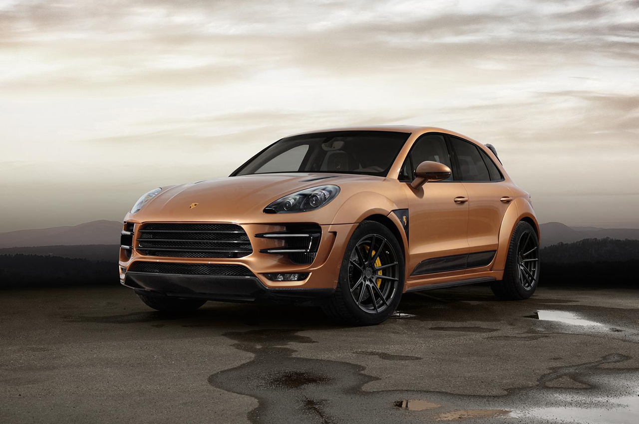 2015 topcar porsche macan dark cars wallpapers. Black Bedroom Furniture Sets. Home Design Ideas