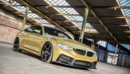 BMW M4 with 3DDESIGN-BODYKIT by CARBONFIBER DYNAMICS