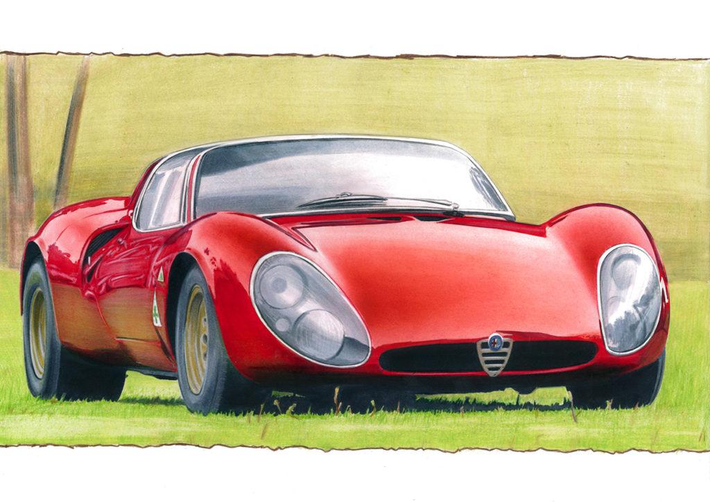 Alfa Romeo Stradale 33 Marco Piras