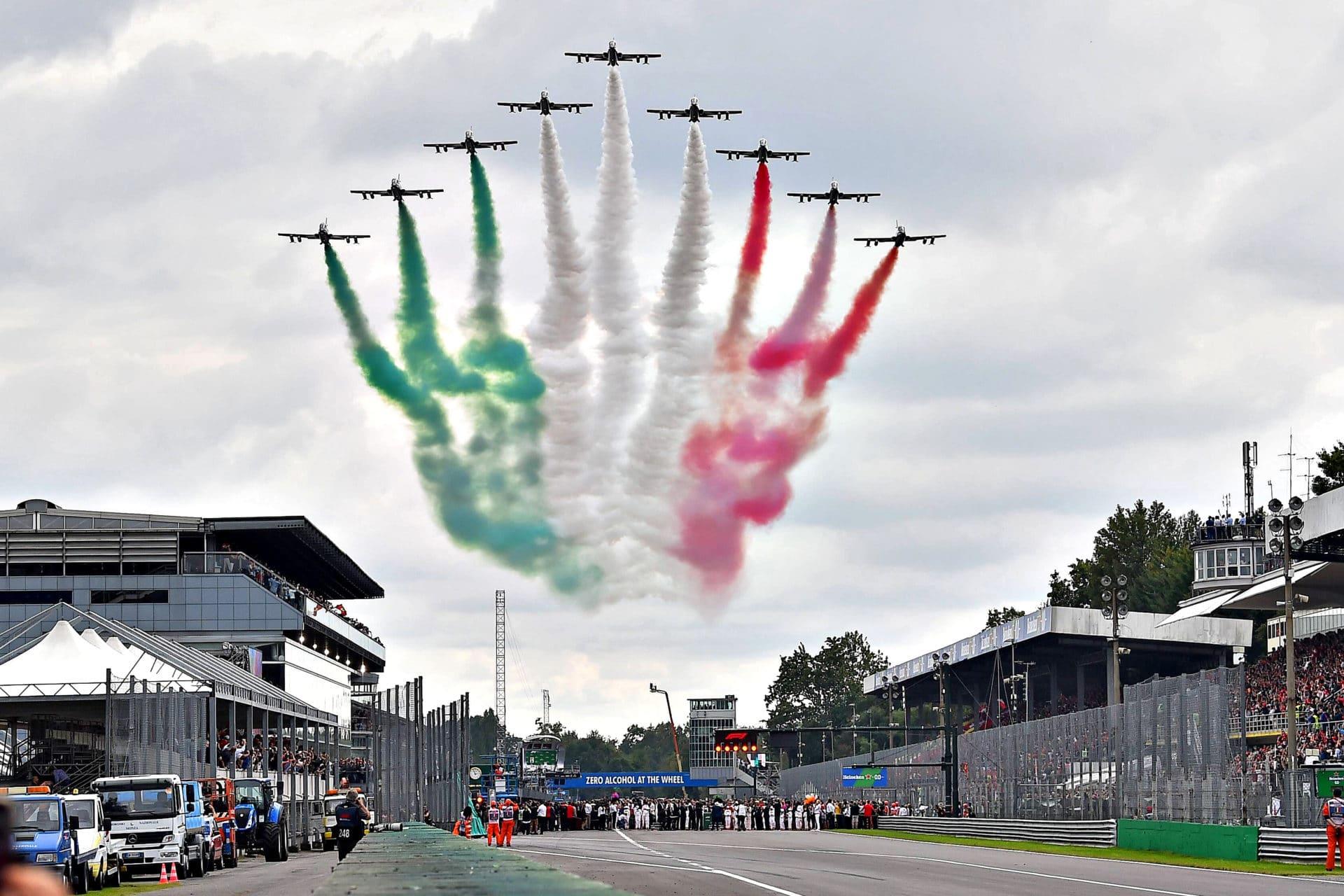 F1: firmato il rinnovo, Monza in calendario fino al 2024