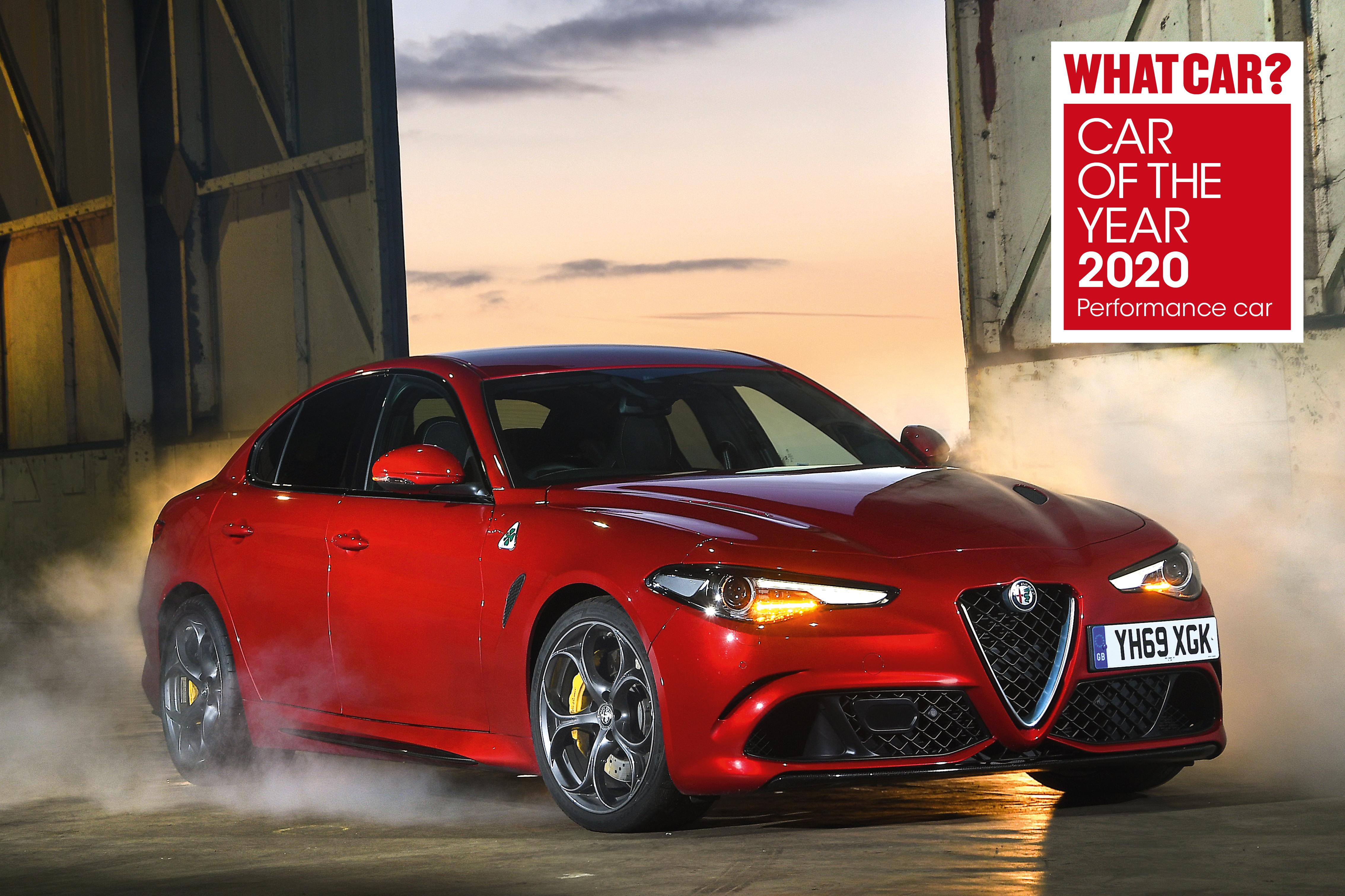 Alfa Romeo Giulia Quadrifoglio Car of the Year 2020