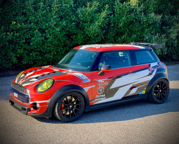 Mini F56 Time Attack 2020 by GPgarage