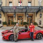 Ferrari SF90 Stradale e Charles Leclerc...
