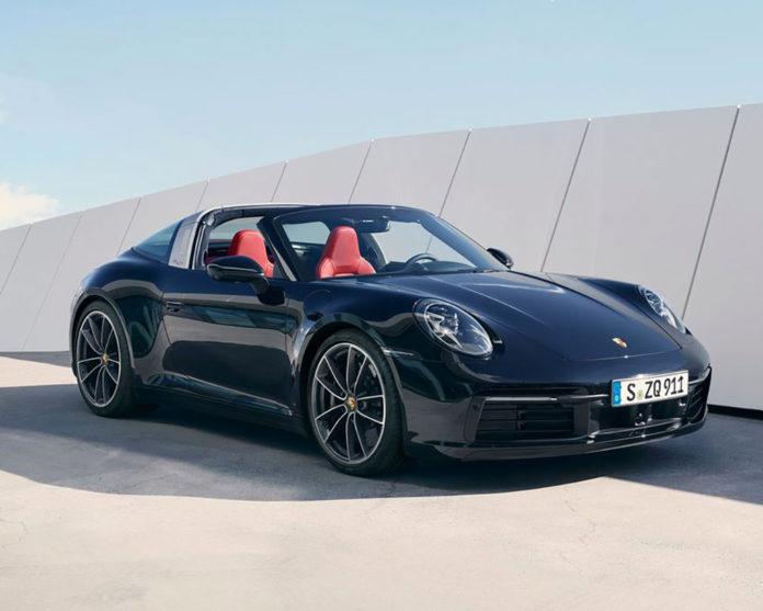 Nuova Porsche 911 Targa 4S