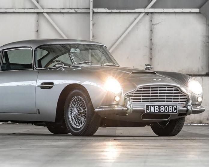 Aston Martin DB5 replica Goldfinger