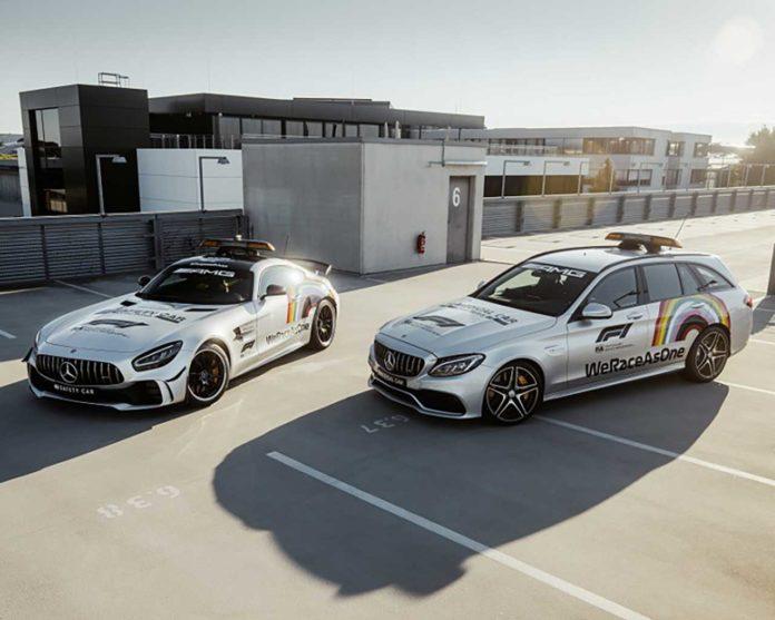 Mercedes-AMG GT R F1 WeRaceAsOne